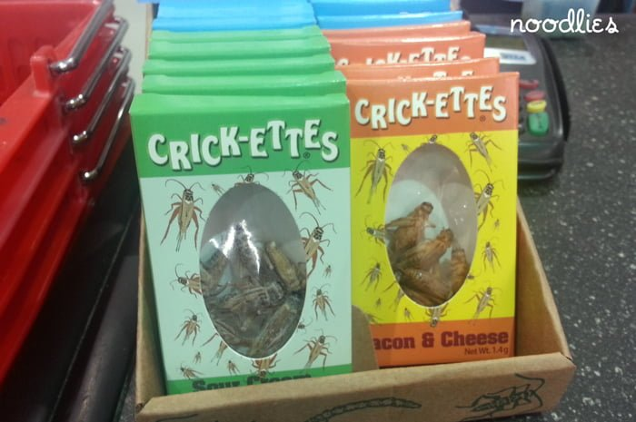 crickettes snacks