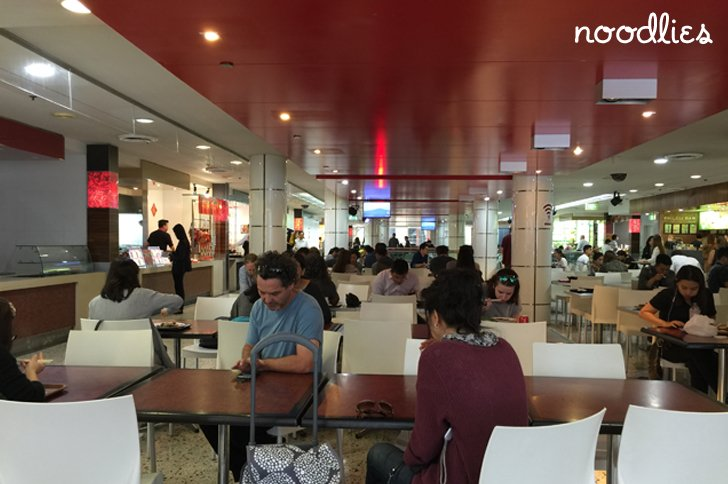 Sussex Centre food court Chinatown