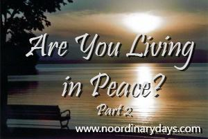 Are You Living in Peace[2]
