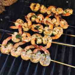 Double I Spent Weekend Working What I Like To So I Outdoor Living Technically Outdoor Living Area Marinated Grilled Shrimp Nest How Long To Grill Shrimp Oven How Long To Grill Shrimp Shish Kabobs Hubs