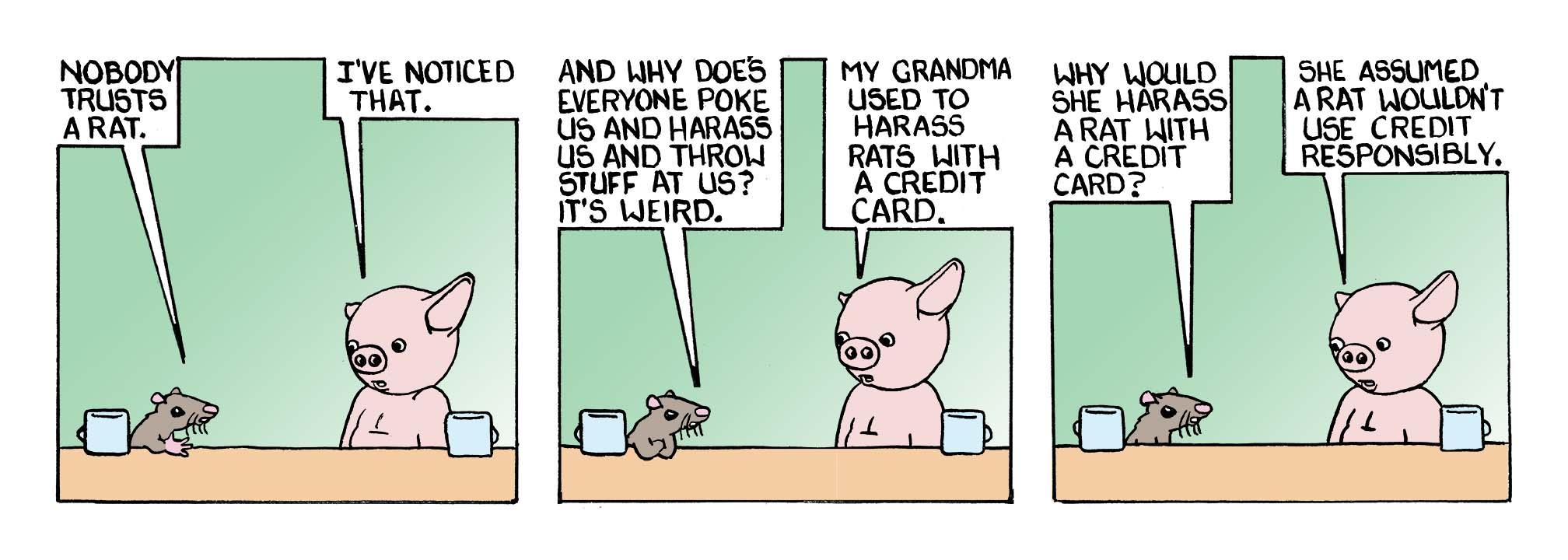 COMIC FOR TUESDAY SEPTEMBER 27, 2016