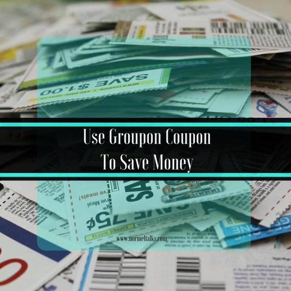 saving money with groupon coupon