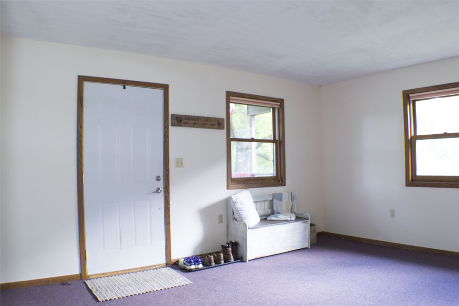 One Room Challenge Week One: The Front Entryway