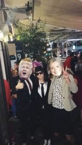 Tali Soroker found The Donald and Hillary during Purim, a Jewish holiday similar to Halloween.