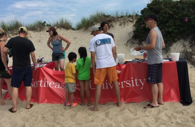 OGL sets up on Menemsha Beach