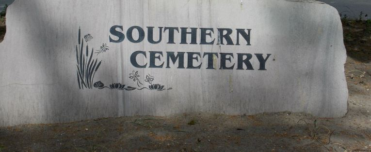 Walking with ghosts: Southern Cemetery