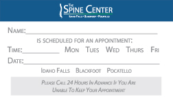 Appointment-Card-outline