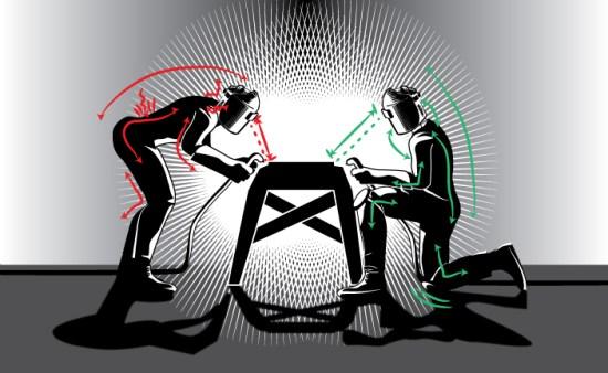 Ergonomics Illustration