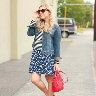 how to wear your summer dress in fall