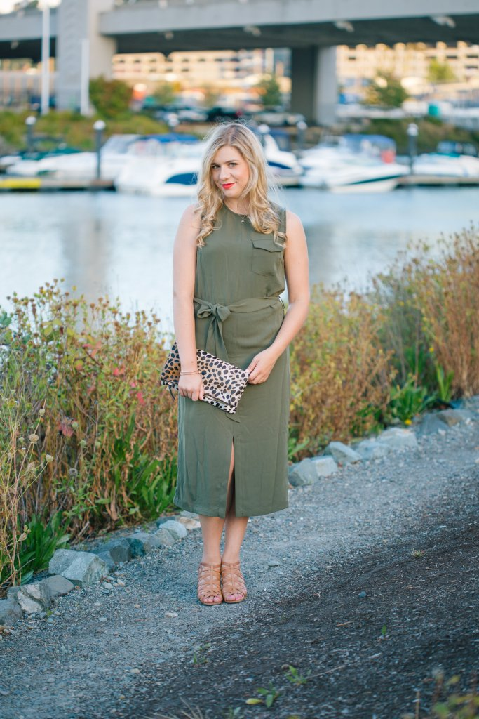 5 ways to wear olive green