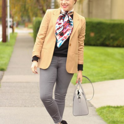 wearing neutrals in winter (with a classic style twist)