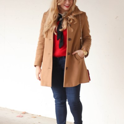 5 Ways to Wear Red for the Holidays + GIVEAWAY