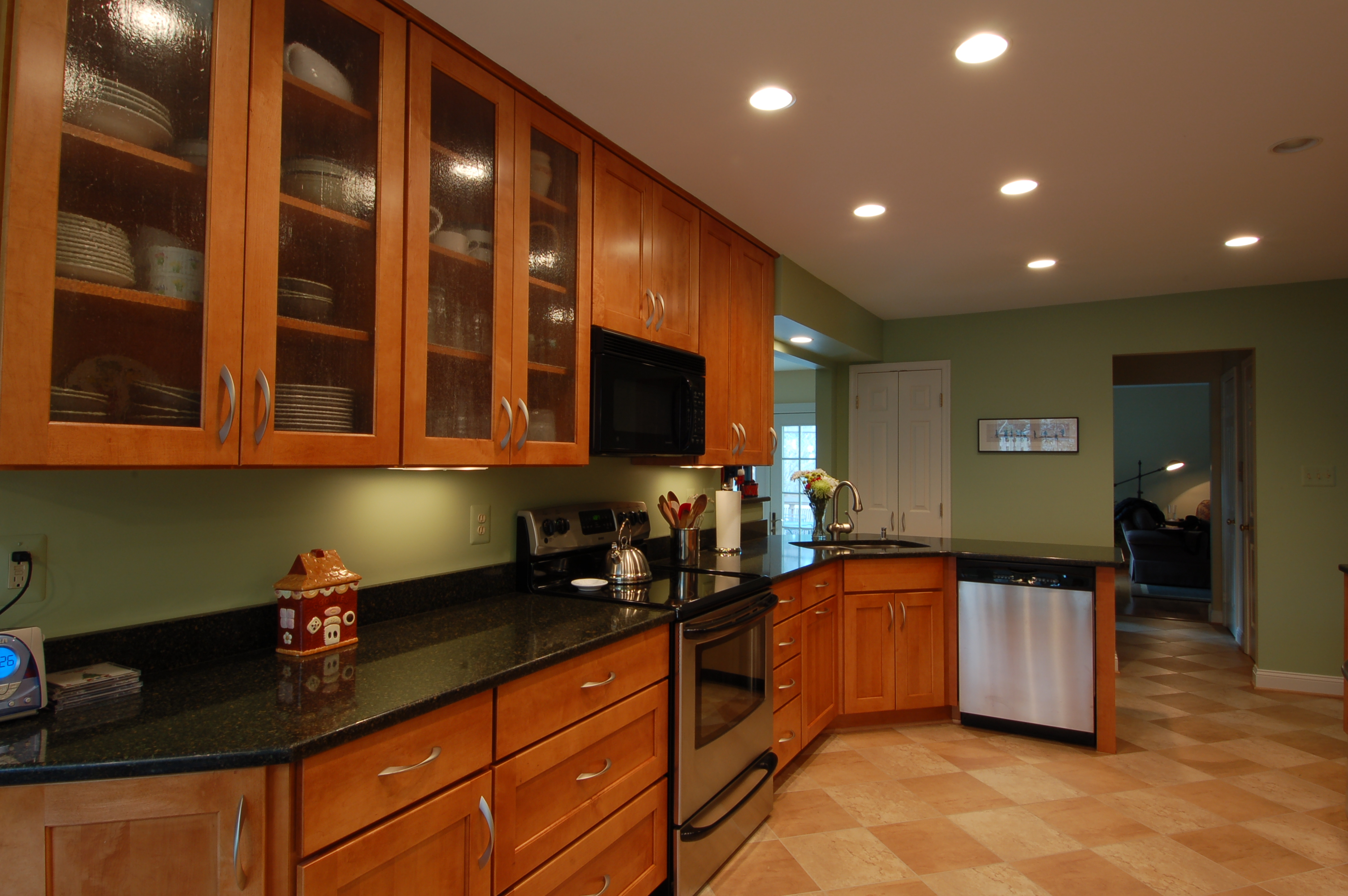 kitchen flooring options vinyl flooring for kitchen Pros