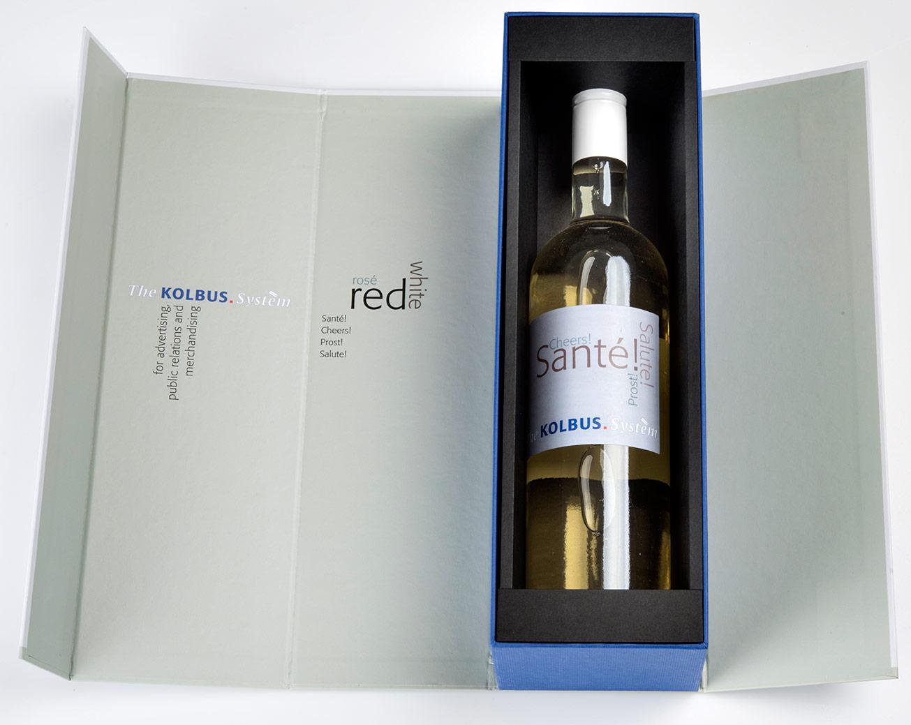 Verpackungsdesign Wein Packaging
