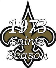 1973 New Orleans Saints NFL Season