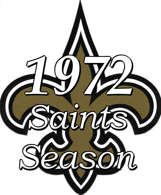 New Orleans Saints 1972 NFL Season