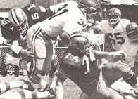 The 1969 New Orleans Saints defense against Washington