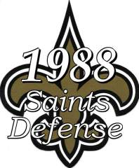 1988 New Orleans Saints Defense
