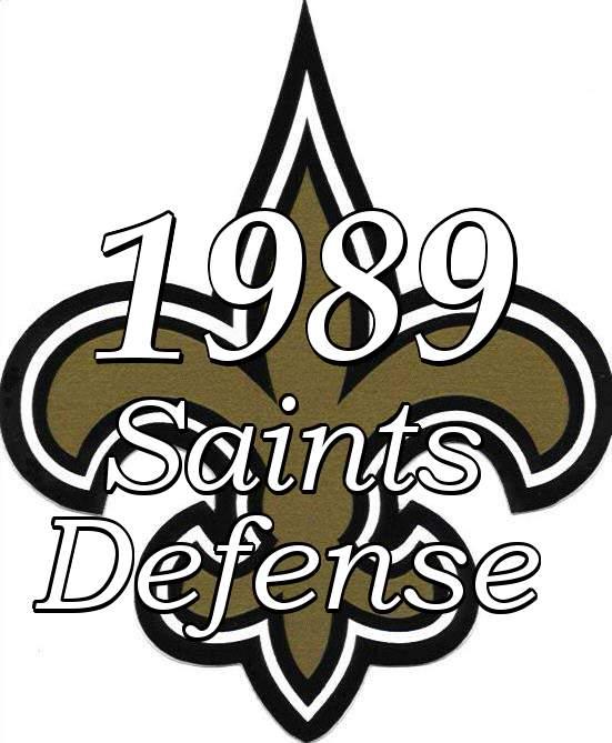 1989 New Orleans Saints Defense