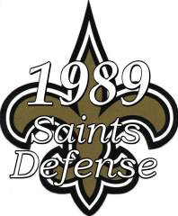 1989 New Orleans Saints Defense