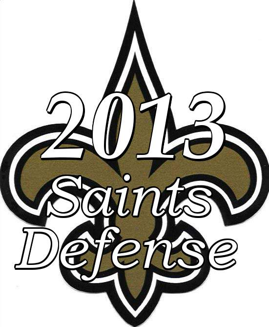 2013 New Orleans Saints Defensive Statistics