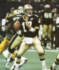 1994 New Orleans Saints Quarterback Jim Everett