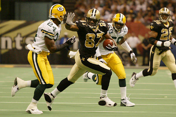 Saints Receiver Joe Horn in 2002