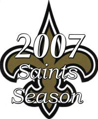 2007 New Orleans Saints NFL Season