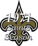 1971 Saints Season