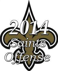 The 2014 New Orleans Saints Offense