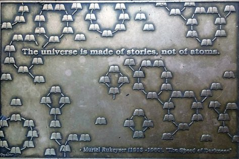 Stories not atoms