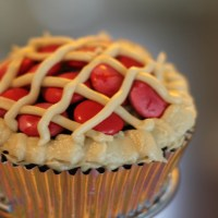 BBQ-Themed Cupcakes: Pie