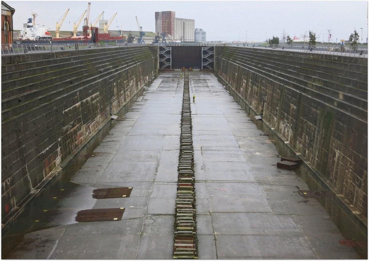 Notas desde el lugar en el que se construyó el Titanic
