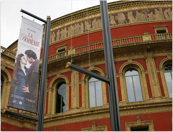 La Boheme en el Royal Albert Hall Londres