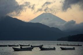 Notas de mis vistas del monte Fuji