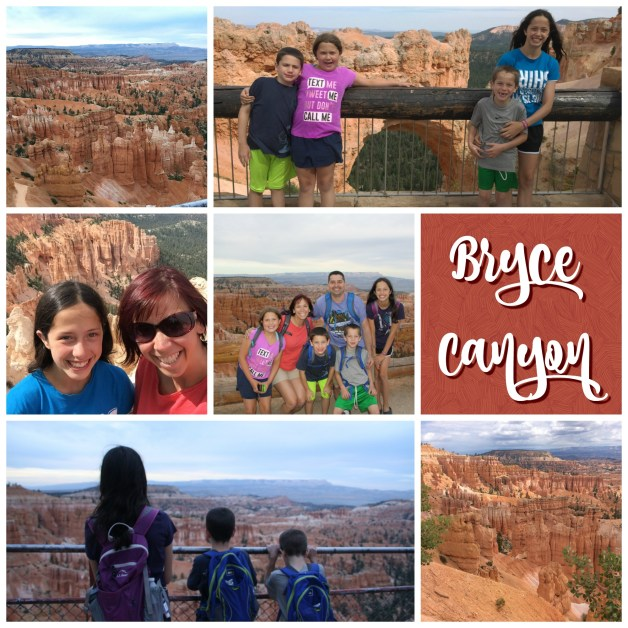 Cross Country Journal Days 7 and 8: Bryce Canyon