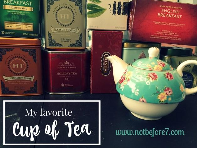 My Favorite Hot Tea Flavors