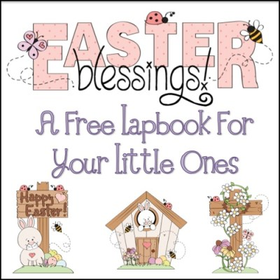 Freebie: Easter Lapbook