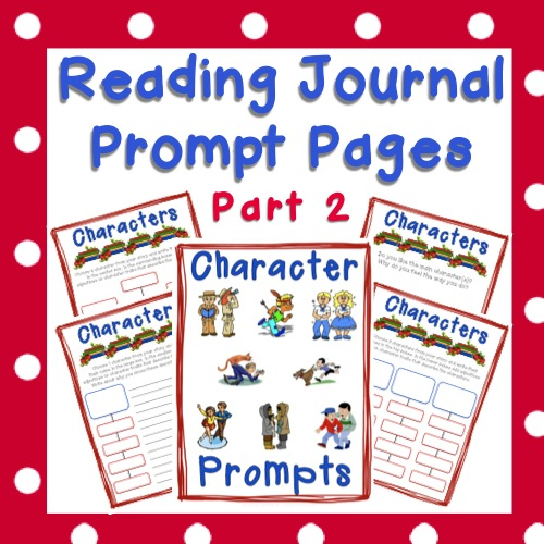 Reading Journal - Character Prompts