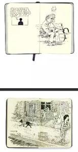 anders nilson sketchbook art
