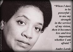 audre lorde powerful quote