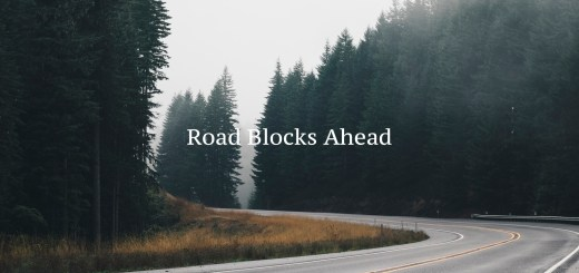 Road Blocks Ahead