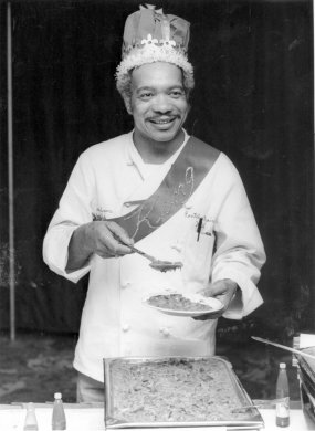 The famous Caribbean Room chef Louis Evans who created many of the iconic New Orleans dishes