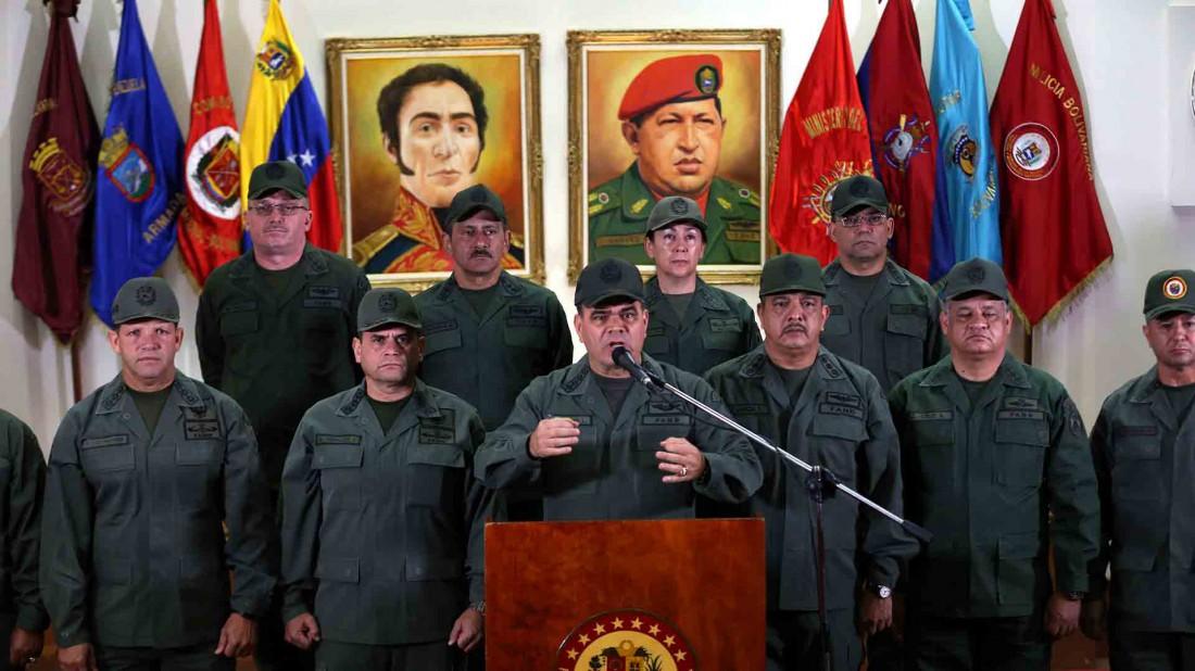 El Estímulo: Estos son los oficiales de la FANB llamados a desconocer a Maduro