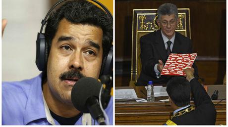 Dos medidas constitucionales que podría tomar la AN contra Maduro