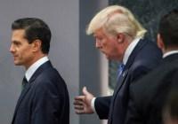Trump humilló a Peña y lo amagó con enviar sus tropas a México, revela Dolia Estévez