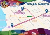 Anuncian cierre de vialidades por Carnaval de Playa del Carmen