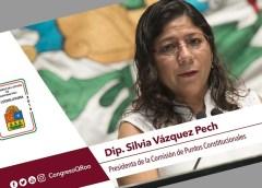 Diputada Silvia Vázquez, la que mas cobra y la mas improductiva