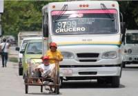 En estudio aumento a tarifa de transporte en Cancún