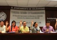 Autoriza cabildo renegociar deuda pública de Solidaridad